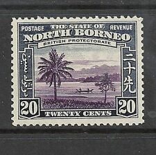 Mint Hinged North Borneo Stamps