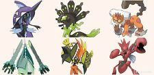 Ultra Pokemon Sun and Moon 6IV-EV Trained Zygarde Team