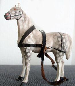 1petit CHEVAL   jouet  tres  ancien ..  c1880  en  bois  ...11  cm !!