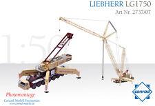 Conrad Liebherr LG1750 Lattice Boom Mobile Crane - DuFour 1/50 O scale MIB