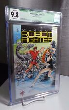 Magnus, Robot Fighter #1 CGC 9.8 WP SIGNED Bob Layton - Trading Cards Included