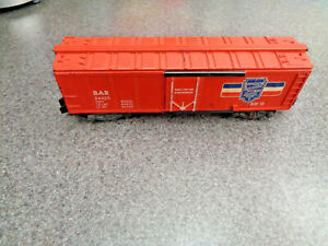 American Flyer S Gauge 1960 #24425 Collector B.A.R Reefer For The Operator