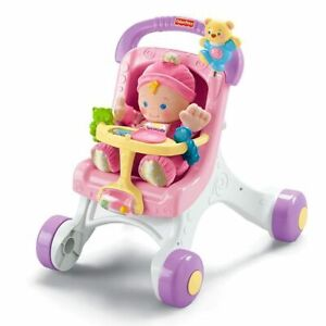 Fisher-Price Brilliant Basics Buggy Stroll Along Walker M9523 TOY KIDS GIFT NEW