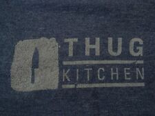 THUG KITCHEN EAT LIKE YOU GIVE A F..CK  Hip Hop Kitchen Mama Foodie Lady TEE  L