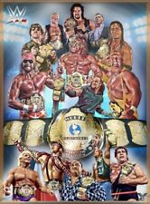 WWC LEGENDS Poster Print WCW WWE Wrestlemania Raw Smackdown Size Options A