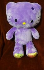 Build A Bear Violet Hello Kitty Grande Peluche Animal en Peluche BABW