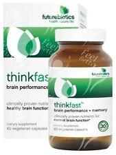 Cervello stimolare Formula Inc Gotu Kola, Bacopa, Ginkgo Biloba, lecitina di soia, x60vc