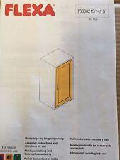 NEW Flexa Cabinet Door, Clear, Flexa #70300213