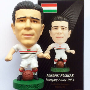 PUSKAS Hungary 1954 Away Corinthian Prostars Elite Figure Loose/Card PRO1220