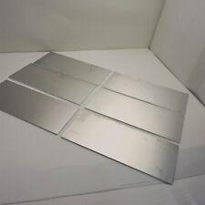 "New listing .19"" thick Aluminum Sheet 8"" x 14.125"" Long Plate Qty 6 Flat Stock sku 176221"