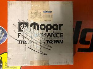 Mopar original 383 engine name Plate 383 Magnum Orange air filter cover P4529085