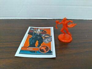 Monopoly Marvel Avengers Replacement Thor Token and power up card 2014 Edition