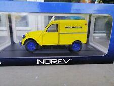 CITROEN 2 CV FOURGONNETTE MICHELIN NOREV 1/18 NEW IN OVP SELTEN RARE!!!