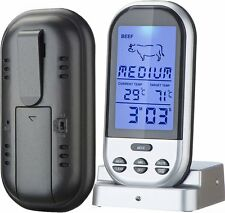 Supreme Home Cook Wireless Oven and Grill Digital Long Range Meat Thermometer