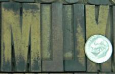 Alphabets Wood Letterpress Type Hamilton 10line 1 58 Gothic Mw13 2