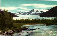 Vintage Postcard - Mendenhall Glacier Alaska AK Un-Posted #1364