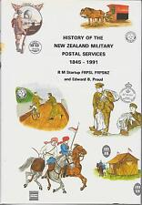 THE HISTORY OF THE NEW ZEALAND MILITARY POSTAL SERVICES BY E.B.PROUD