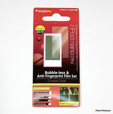 iPod nano 7th Gen - Screen Print Protector Film | Simplism (Lot of 10)