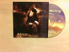 RARE CD PROMO 1 TITRE / TOM WAITS / ALICE / TRES BON ETAT