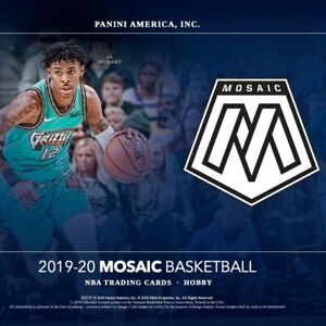 2019-20 Panini Mosaic Silver Parallel Set Singles Basketball Sports Cards #1-150