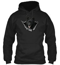 Mudi - Dt Classic Pullover Hoodie - Poly/Cotton Blend By Team Tee272