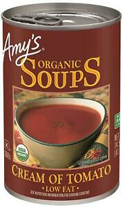Amy'S Organic Soups, Low Fat Cream Of Tomato, 14.5 Ounce (Pack Of 12)