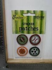 Pure Juice Sports Sticker Patches Embroidered Fabric Embellishment New A18523