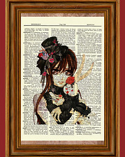 Yuki Cross Vampire Knight Anime Dictionary Art Print Poster Picture Manga Book