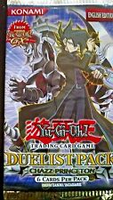 YU-GI-OH! Duelist Pack Chazz Princeton 1 Booster Pack 6 cards per pack