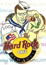 Hard Rock Cafe New York Fleet Week 2004 Military Navy Sailor Pin LE NEW # 22641