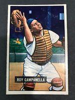 1951 Bowman #31 Roy Campanella #31 HOF Brooklyn Dodgers
