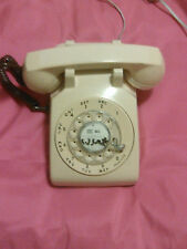 1971 Yellow Western Electric Bell System 500 DM Rotary Desk Telephone Novelty