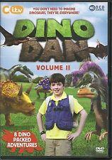 DINO DAN VOLUME II DVD - 8 DINO PACKED ADVENTURES - KIDS CITV