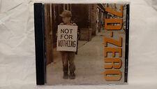 7D-Zero - Not For Nothing (CD, 2001, Witzend)