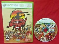 Samurai Showdown Sen - Microsoft Xbox 360 Rare Game SNK XSeed Games 1-2 Player