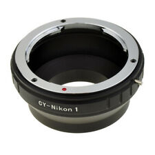 NEW Mount adapter For Contax/Yoshica C/Y lens to Nikon N1 digital cameras