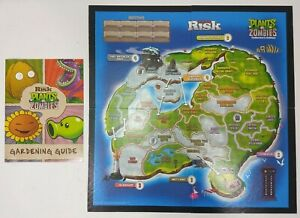 Plants VS Zombies Collector's Edition Replacement Game Board & Manual
