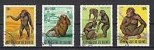 Guinée 1969 Singes (135) Yvert n° 382 à 385 oblitéré used