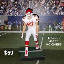 Custom T. Kelce #87 TE KC Chiefs Mcfarlane figure