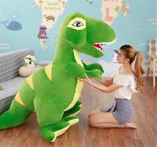 Super Large Dinosaurs Rex blue Plush Toys Kids Soft Cuddly Stuffed Animals
