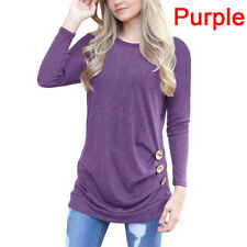 Women's Fashion Contrast Color Pullover Jumper Long Sleeve Knitted Top SweaterAT