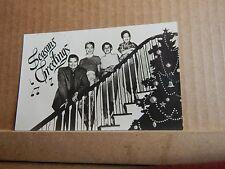 Vintage Film Star Postcard Seasons greetings from Frankie Laine