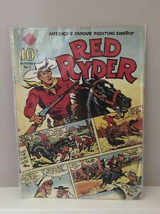 Vintage Red Ryder No. 1 Reprint 1989 A Hi-Spot Comic Book