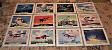 VTG 1942 Thompson Golden Decade 1920-30 Planes 12 Lithographs Charles Hubbell