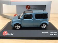 J Collection 1/43 - Nissan Cube - Ash Blue - Mint/Boxed