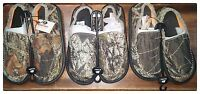 DOUBLE BARREL Men's MOSSY OAK Camo Canvas Camouflage Frayed Shoes 57926222 NWT
