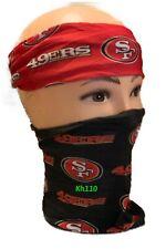 San Francisco 49ers NFL Face Mask Bandana Balaclava Headwear Neck Scarf
