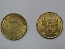 Rare Original Sydney Luna Park Brass Token Circa 1960's - Collectors Item
