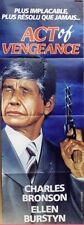 """""""ACT OF VENGEANCE"""" Affiche originale (Charles BRONSON)"""