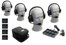 Eartec ul-4d inalámbrica intercomsystem 4 personas-oír-hablan al mismo tiempo